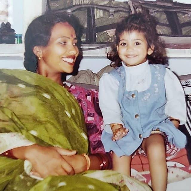 Anishka Khantwaal Childhood Photo